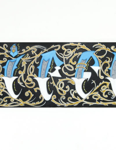 Lettering 01 painting