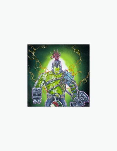 Hulk painting by Viper